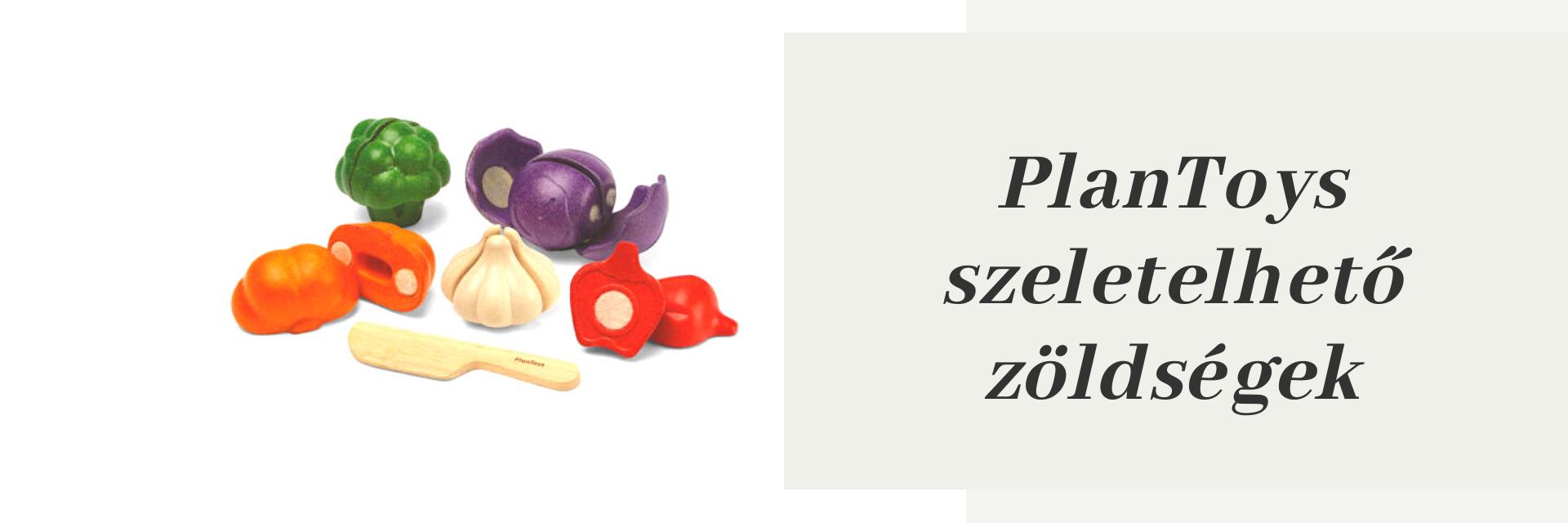 PlanToys zöldségek