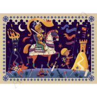Djeco Formadobozos puzzle A bús képű lovag - kifutó termék