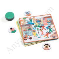 Djeco Fejlesztő játék - Pontosan az! - kifutó termék