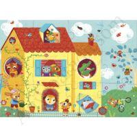 Djeco Óriás puzzle,Optikus otthon