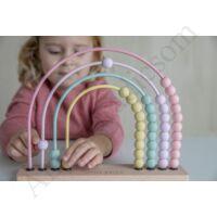 Little Dutch abacus, rózsaszín