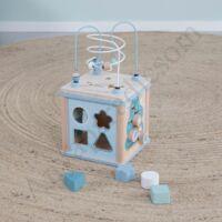 Little Dutch készségfejlesztő kocka, kék