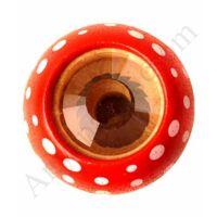 Plan Toys gombás kaleidoszkóp piros