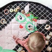 Play&go soft játéktároló zsák 2 az 1-ben, láma