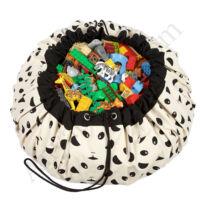 Play&go játéktároló zsák 2 az 1-ben, panda