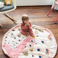 Play&go soft játéktároló zsák 2 az 1-ben, páva