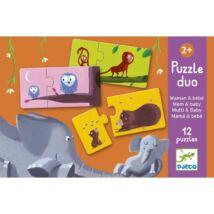 Djeco Párosító puzzle, mama és kicsinye