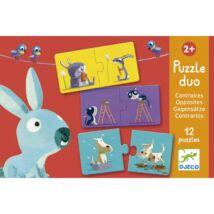 Djeco párosító puzzle, ellentétek