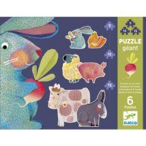 Djeco Óriás puzzle, Pitypang és barátai