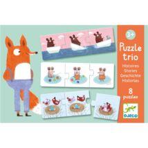 Djeco párosító puzzle, történetek