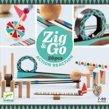 Djeco Építőjáték Zig&Go 28 db