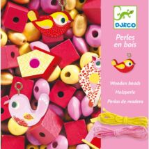 Djeco gyöngyfűző, rózsaszín