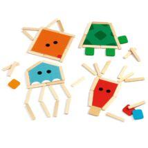 Djeco képkirakó pálcikákkal