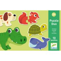 Djeco párosító puzzle állatok