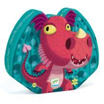 Djeco Formadobozos puzzle Cuki sárkány