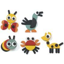 Djeco képkirakó, geometrikus állatképekkel