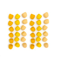Grapat mandala sárga méhsejt
