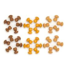 Grapat mandala barna gombák