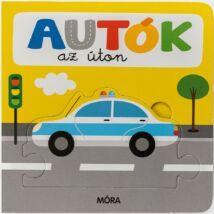 Autók az úton - képeskönyv kicsiknek