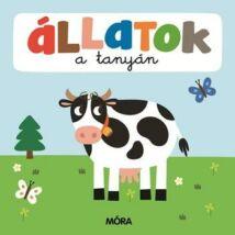 Állatok a tanyán - képeskönyv kicsiknek