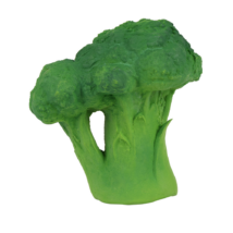 Oli&Carol brokkoli kaucsukgumi rágóka