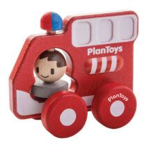 PlanToys tűzoltóautó, kifutó termék