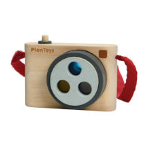PlanToys színes csavarható fényképező