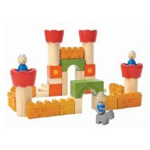 PlanToys kastély építőkocka