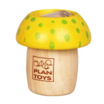 PlanToys gombás kaleidoszkóp, sárga