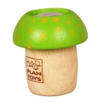 PlanToys gombás kaleidoszkóp, zöld