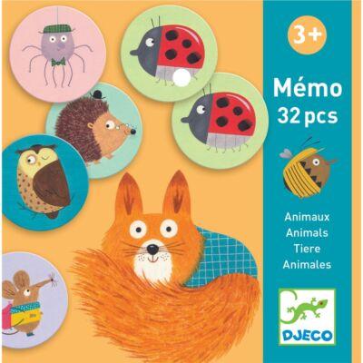 Djeco memória játék - Állatok