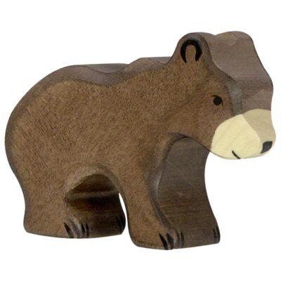 holztiger kicsi barna medve