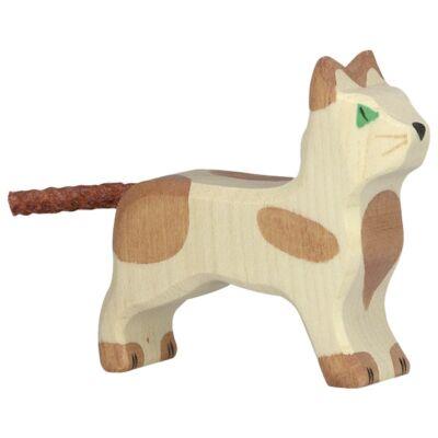 holztiger kicsi barna macska