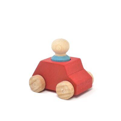 lubulona piros auto figuraval