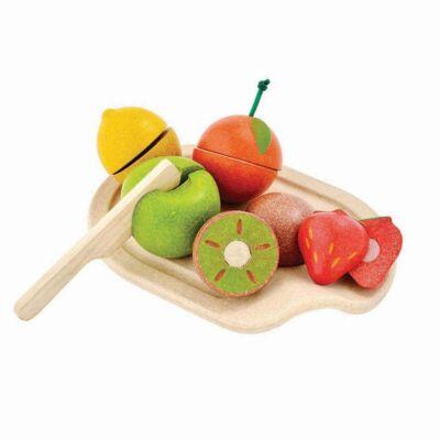 PlanToys szeletelhető gyümölcs tál