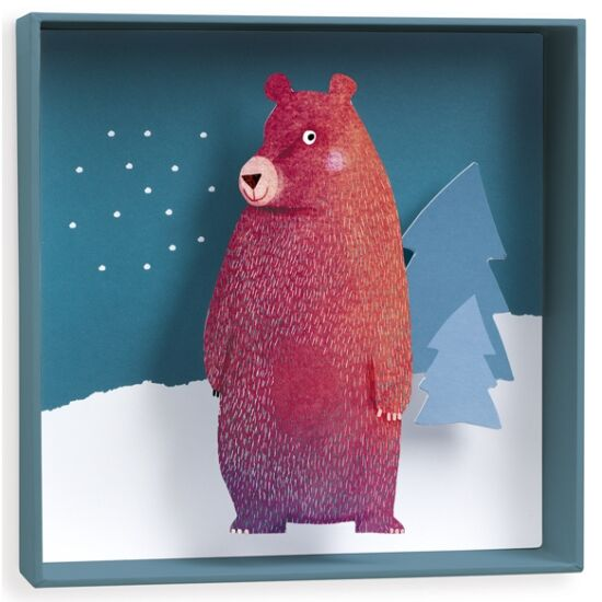 Djeco Falikép - Medve