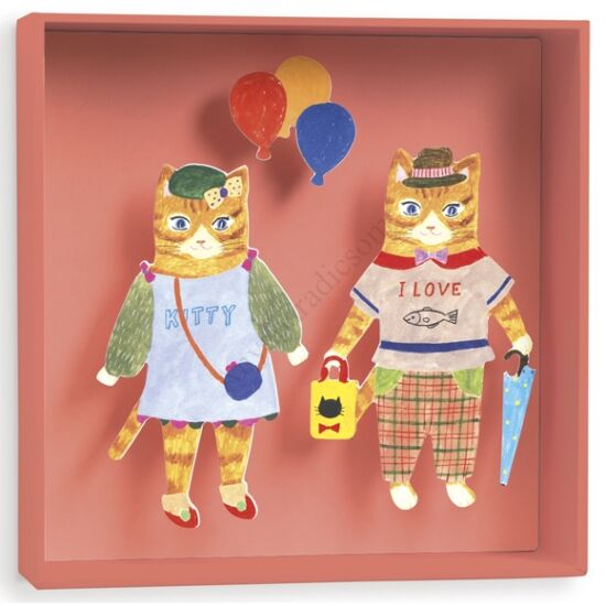 Djeco Falikép - Cats balloon