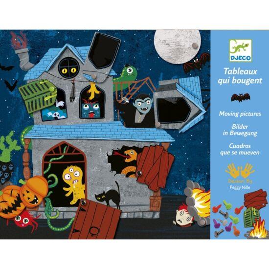 Djeco Kapcsos képkészítés - Kísértetek háza