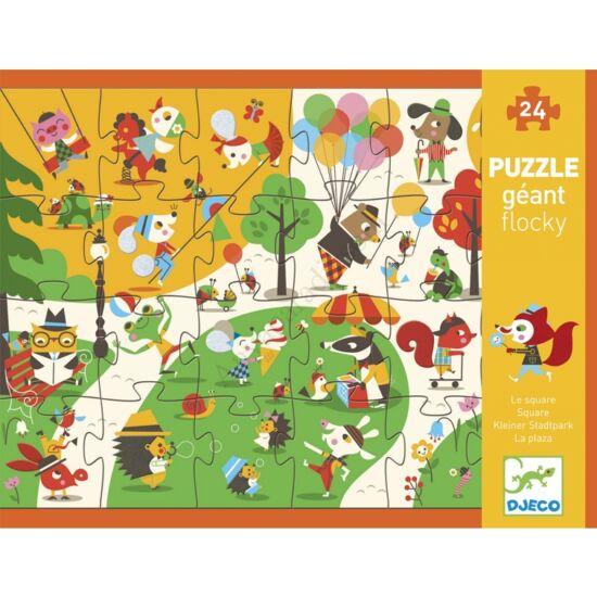 Djeco Óriás puzzle,Játszótér