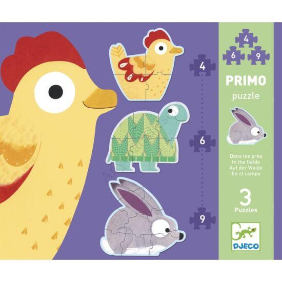 Djeco Primo puzzle - A réten