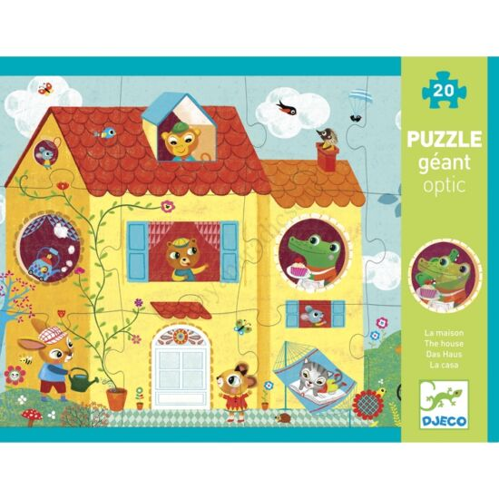djeco orias puzzle otthon