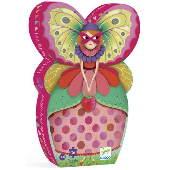Djeco Formadobozos puzzle A pillangó kisasszony