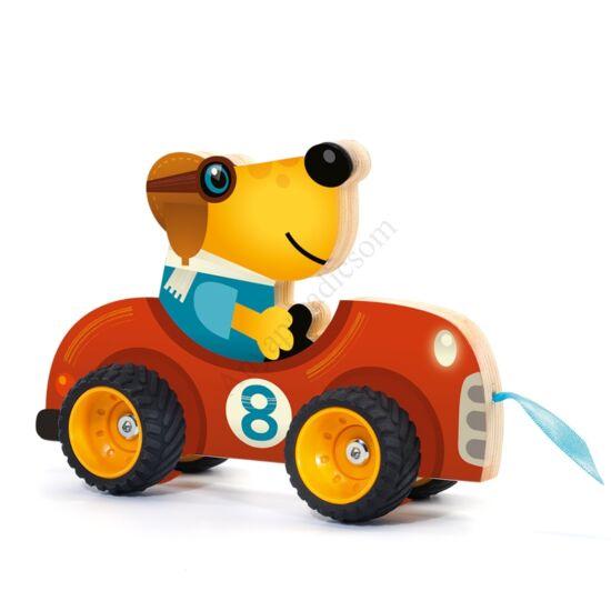 Djeco húzható játék, terreno car