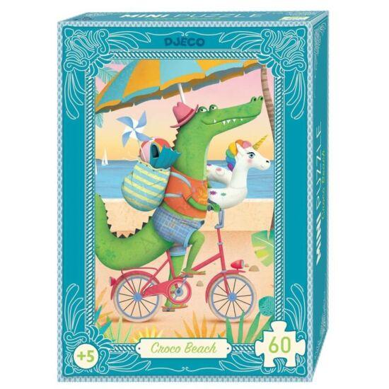 Djeco mini puzzle Coco Beach 60 db-os