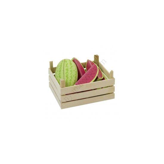 Goki - Dinnye szelet fából