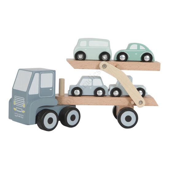 little dutch autoszallito kamion