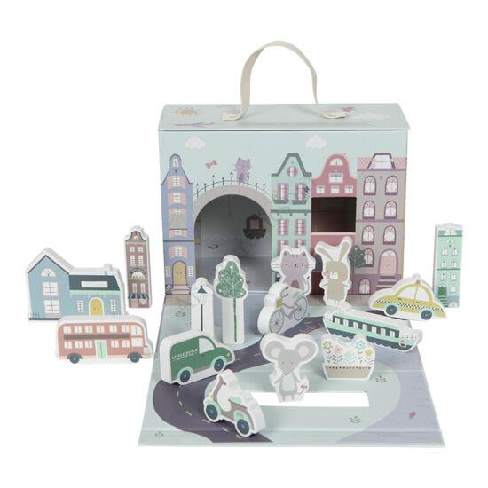 Little Dutch város hordozható bőröndben