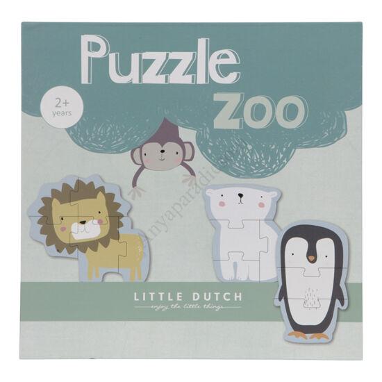 little dutch puzzle allatkert