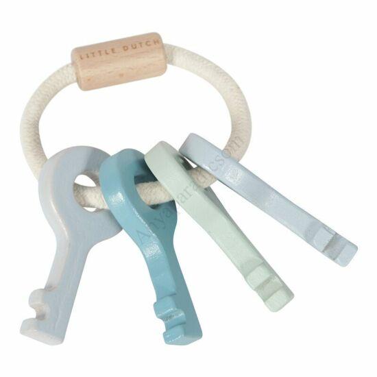 Little Dutch fa játék kulcsok, kék