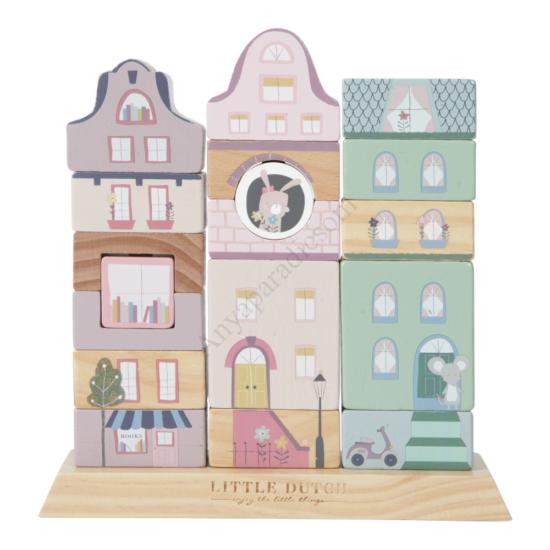 Little Dutch montessori város, rózsaszín